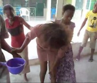 WTF Ghanian Girl Vomits Glass, Nails & Money!!