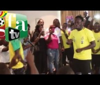 Shatta Wale Dance Off With Michael Essien