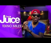 Tekno Performs On 'The Juice'