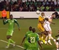 Match-Fixing Austin Ejide Throws Ball Into His Own Net (Nigeria Vs Scotland)