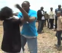 40-Year-Old Kenyan Woman Storms Church Demanding Her Pastor To Pay Child Support!