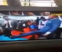 VIDEO Ghanaian Pastor Daniel Obinim Steps On Pregnant Woman's Belly For Deliverance