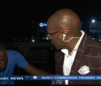 VIDEO South African TV Reporter Robbed On Camera During Live Coverage