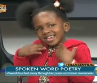 VIDEO: Meet Zawadi the 4 Year old Kenyan spoken word artist