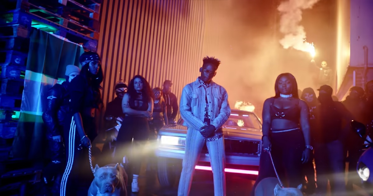 Mr Eazi ft Giggs - London Town (Music Video)