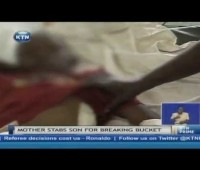 Damnn!! Kenyan Mother Stabs Son In The Chest For Breaking A Plastic Bucket!