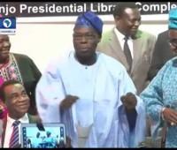 Work It Obasanjo Ex-Nigerian President Obasanjo Dancing On His Birthday Celebration