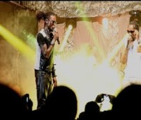 Radio & Weasel Live Performance In Rwanda