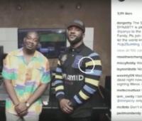 VIDEO: Iyanya Signs With Don Jazzy To Mavins Record