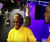 VIDEO Mr Eazi x Dotman Freestyle on BBC Radio 1Xtra