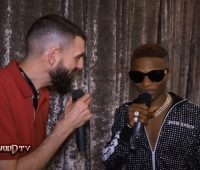 Wizkid talks on his new album 'Made in Lagos' and collab with Skepta on Tim Westwood TV